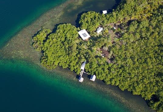 Location de vacances sur l'eau à Bocas del Toro Panama